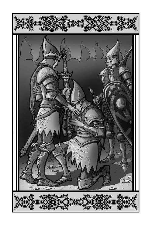 """илюстрация към """"Забравени предания"""""""