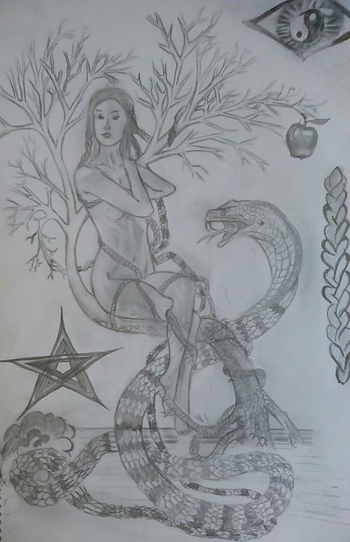 """рисунка на Християн Трифонов по """"Как спасяваме света"""""""